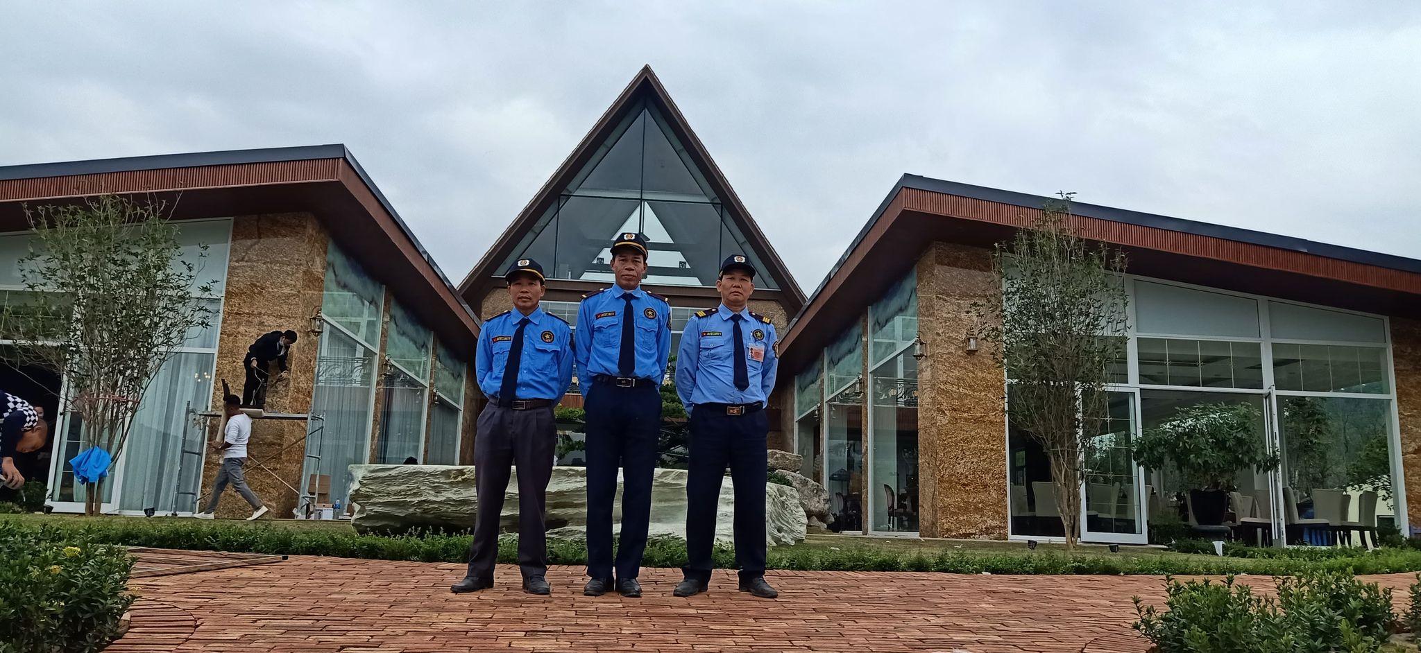 Triển khai dịch vụ bảo vệ chuyên nghiệp tại Khu nghỉ dưỡng sinh thái cao cấp Đền Gióng - Sóc Sơn - Hà nội.