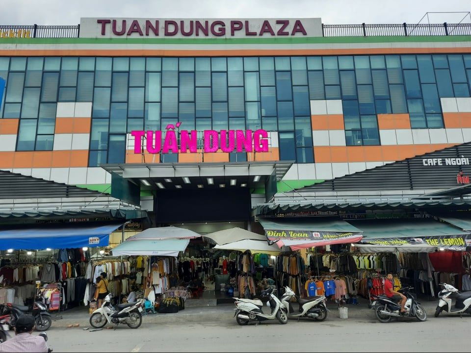 Triển khai dịch vụ bảo vệ chuyên nghiệp tại Trung tâm thương mại TUẤN DUNG  - Ninh Hiệp - Gia Lâm - Hà Nội