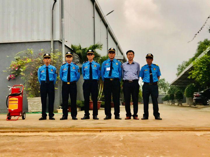 Triển khai dịch vụ bảo vệ chuyên nghiệp tại Nhà máy Công ty TNHH SX&TM Thanh Thúy - Huyện Sóc Sơn - Hà Nội.