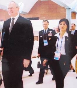 Ông Bill Clinton, G.Bush, bà Hillary... sang Việt Nam, nữ trung tá Phương bảo phải đối mặt với nhiều tình huống chưa từng ghi trong giáo trình nghiệp vụ.