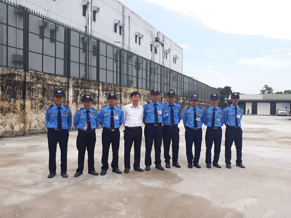 Triển khai dịch vụ bảo vệ chuyên nghiệp tại Công ty TNHH hóa chất LONG LONG  Sóc Sơn - Hà Nội.