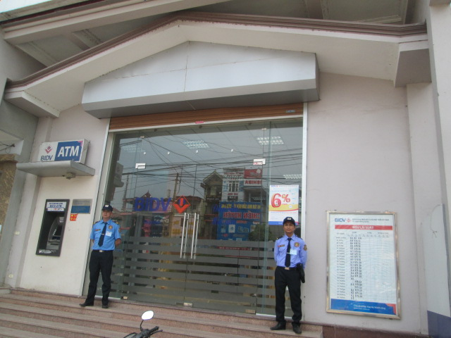 Ngày 06/04/2015 sau một thời gian tìm kiếm đối tác, ngân hàng TMCP đầu tư và phát triển Việt Nam – BIDV chi nhánh Sóc Sơn đã quyết định sử dụng dịch vụ bảo vệ thuộc Công ty TNHH Dịch vụ Bảo vệ An Viên – đơn vị cung cấp dịch vụ bảo vệ chuyên nghiệp uy tín hàng đầu tại địa bàn TP Hà Nội và các tỉnh lân cận.